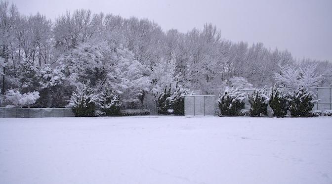 雪の日、ピンク・フロイド。