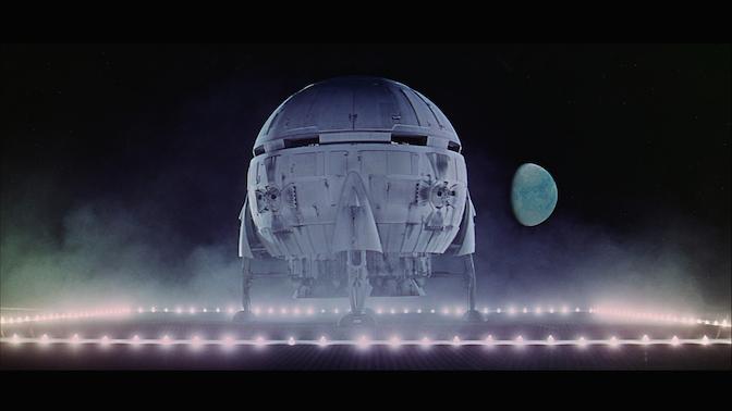 クラビウス基地へ_2001年宇宙の旅
