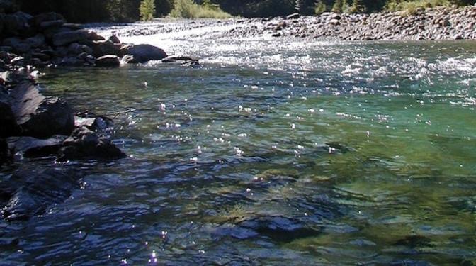 ツイン・ピークスの復活_バーチャル観光3_スノコルミー川の向こう岸
