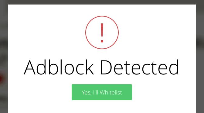 アドブロックが検出されました。